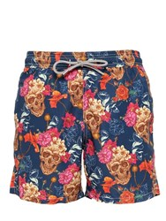 Mc2 Saint Barth Gustavia Persy Skull Swim Shorts