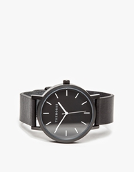 The Horse Matte Black Band Watch