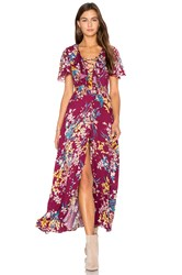 Somedays Lovin Supremes Floral Dress Purple