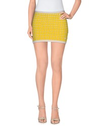 Blumarine Skirts Mini Skirts Women Yellow