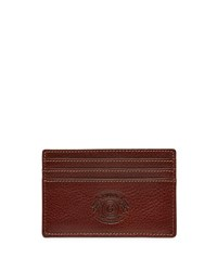 Ghurka Slim Leather Card Case Vintage Chestnut