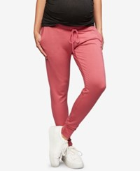 A Pea In The Pod Maternity Under Belly Jogger Pants Mauvewood