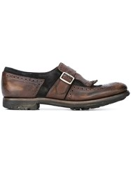Church's Buckled Loafers Brown