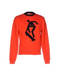 Carven Sweatshirts Red