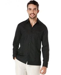 Cubavera Embroidered Long Sleeve Shirt