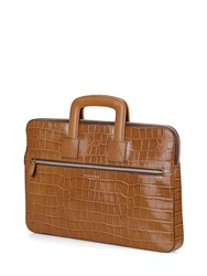 Aspinal Of London Connaught Document Case Brown