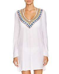 Milly Beaded Tunic Swim Cover Up