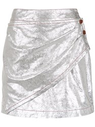 Lilly Sarti A Line Skirt Grey