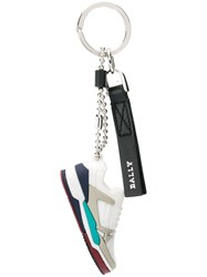 Bally Champion Keyring White
