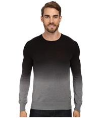 Calvin Klein Jeans 12Gg Ombre Dip Dye Crew Aluminum Heather Men's Sweater Gray