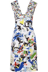 Jil Sander Printed Cotton Dress