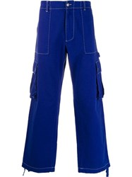 United Colors Of Benetton Cargo Trousers Blue