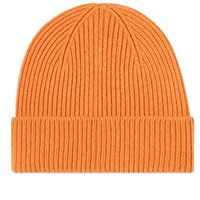 Colorful Standard Remade Wool Beanie Orange