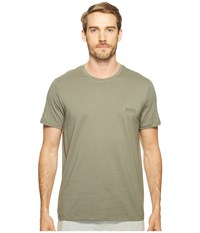 Hugo Boss T Shirt Rn 24 101459 Olive Green Men's T Shirt Multi
