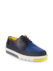 Camper Colorblock Leather Derby Shoes Multi