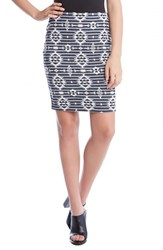 Women's Karen Kane Jacquard Knit Pencil Skirt