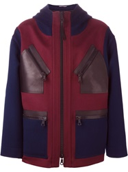 Valentino Hooded Coat Red