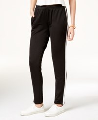 Jessica Simpson The Warm Up Juniors' Track Pants Jet Black