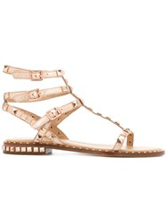 Ash 'Poison' Gladiator Sandals Metallic