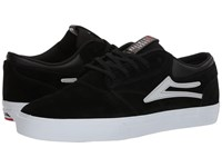 Lakai Griffin Black Reflective Suede Skate Shoes