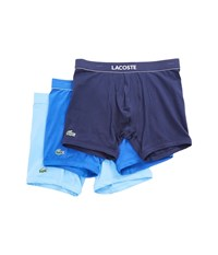 Lacoste Colours 3 Pack Boxer Brief Blue Assorted Men's Underwear Multi