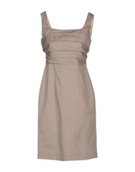 Nina Short Dresses Khaki