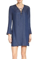 Fraiche By J Women's Denim Shift Dress