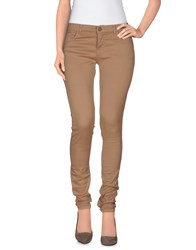 Twin Set Jeans Trousers Casual Trousers Women Skin Color