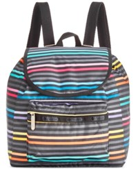 Le Sport Sac Lesportsac Small Edie Backpack Lestripe Black