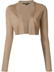 Derek Lam Bolero Cardigan Brown