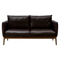 Elgin Sofa Walnut Brown Small