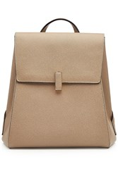 Valextra Leather Backpack Beige