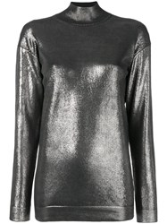 Tom Ford Metallic Jumper Black