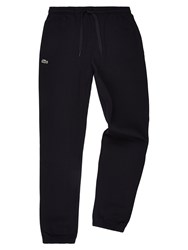 Lacoste Sweatpants In Solid Fleece Black