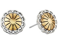 The Sak Concho Metal Stud Earrings Two Tone Earring Metallic