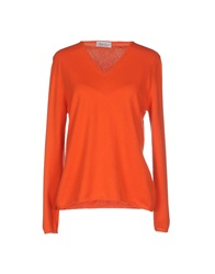 Della Ciana Sweaters Orange