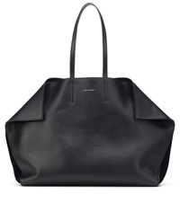 Alexander Mcqueen Leather Shopper Black