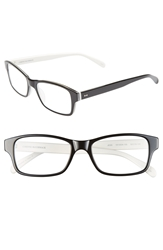 Corinne Mccormack 'Jess' 52Mm Reading Glasses Black White