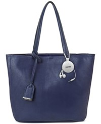 Kenneth Cole Reaction Clean Slate Shopper With Retractable Earphones Marina
