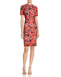 Karen Millen Embroidered Lace Sheath Dress 100 Exclusive