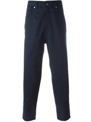 Societe Anonyme 'Deep Chino' Trousers Blue