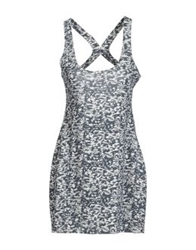 0051 Insight Short Dresses Grey