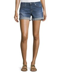 Ag Jeans The Hailey Raw Hem Shorts 10 Years Day Off Indigo