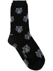 Kenzo Multi Tiger Socks Black