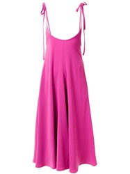 G.V.G.V. Bow Knot Dress Pink And Purple