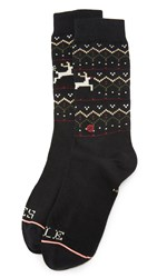 Stance Mistle Toes Socks Black