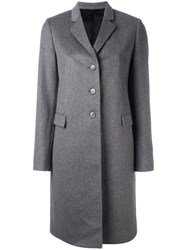 Paul Smith Classic Single Breasted Coat Grey