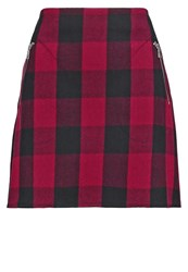 Gap Mini Skirt Red Plaid