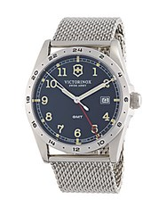 Victorinox Infantry Stainless Steel Watch Grey