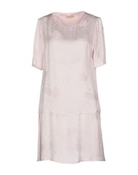 Maesta Dresses Short Dresses Women Light Pink
